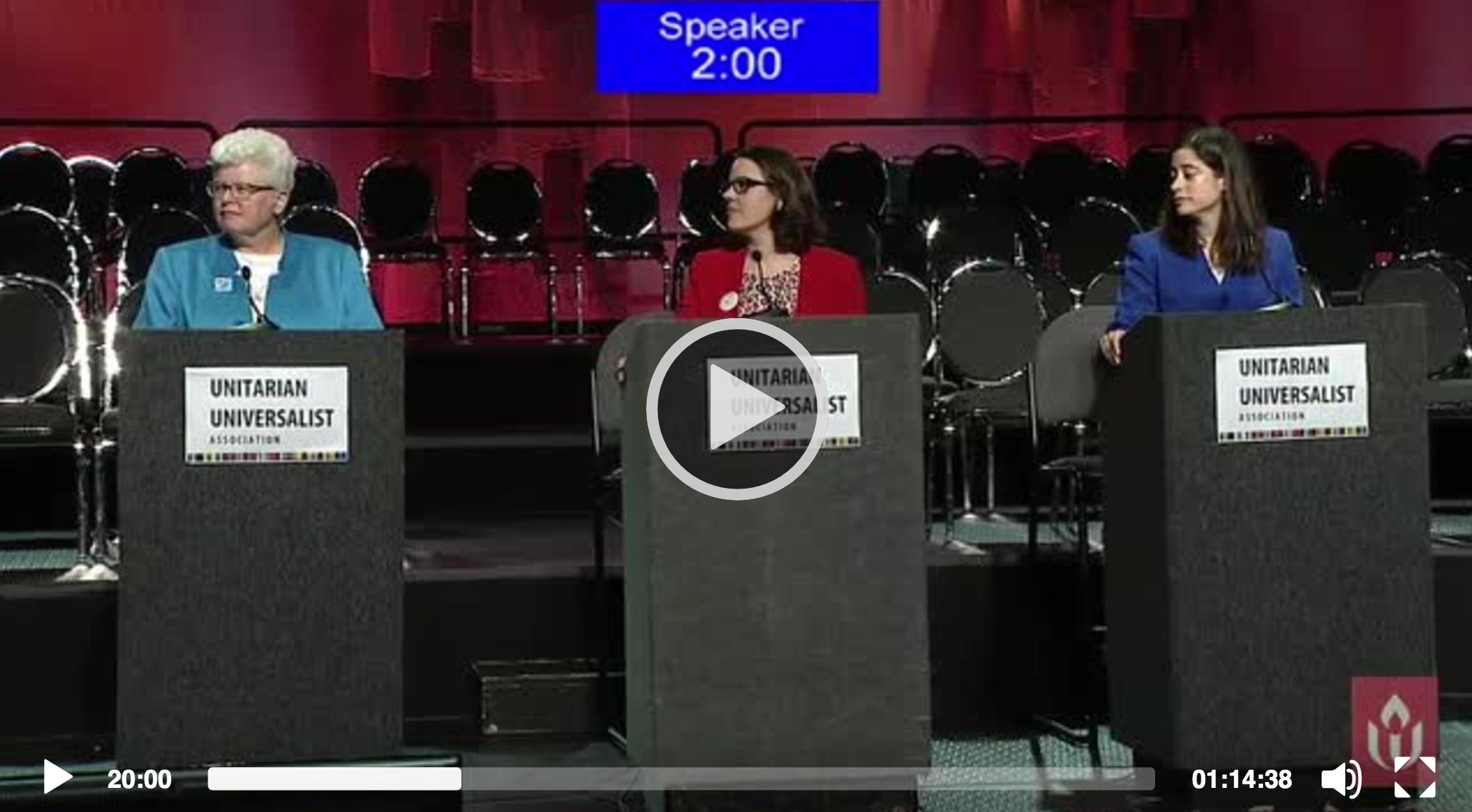 GA 2016 Candidates Forum